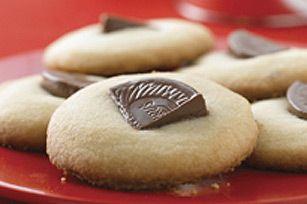 TERRY'S Chocolate Orange Shortbread Cookies Recipe