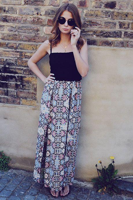 Millie MacKintosh Style Diary Look 2 Dress - Miss Selfridge Sandals - Koyko Kenya Sunglasses - The Row
