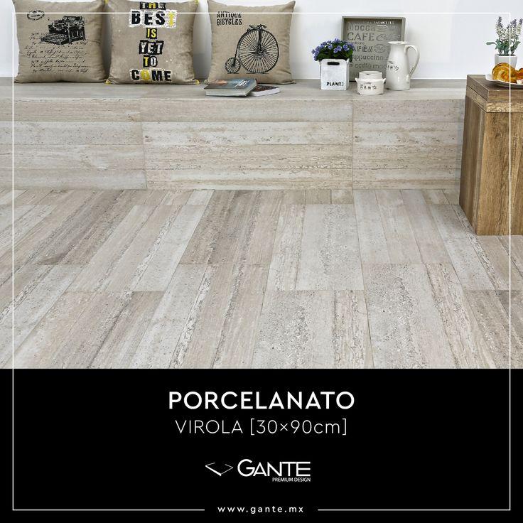 VIROLA Antico [30x90]Resultado de la cimbra del concreto que ha fraguado sobre la madera de pino imperfecta.Ideal para interiores y exteriores.Hecho en Indonesia. 🇮🇩·www.gante.mx#gantedesign #premiumdesign #design #premium #architecture #porcelain