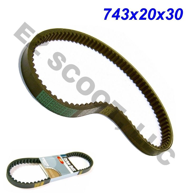 743 20 30 Drive Belt GY6 4STROKE Scooter 125 150cc 152QMI 157QMJ taotao Peace | eBay