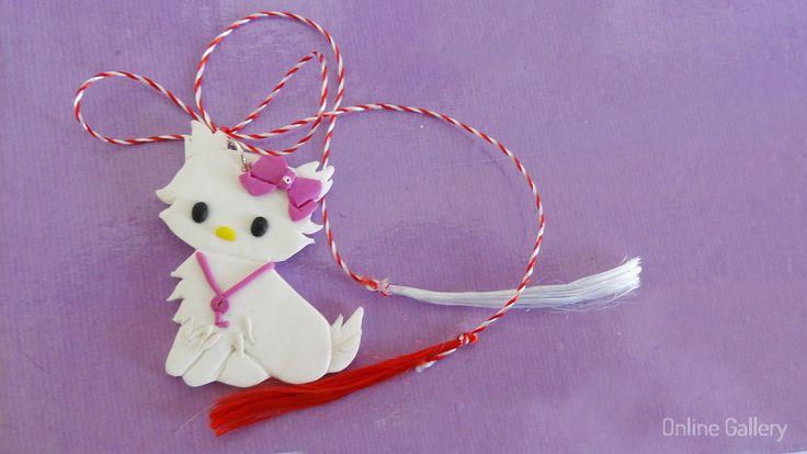 Pandantiv - bijuterie Charmmy Kitty #martisor #martisoare