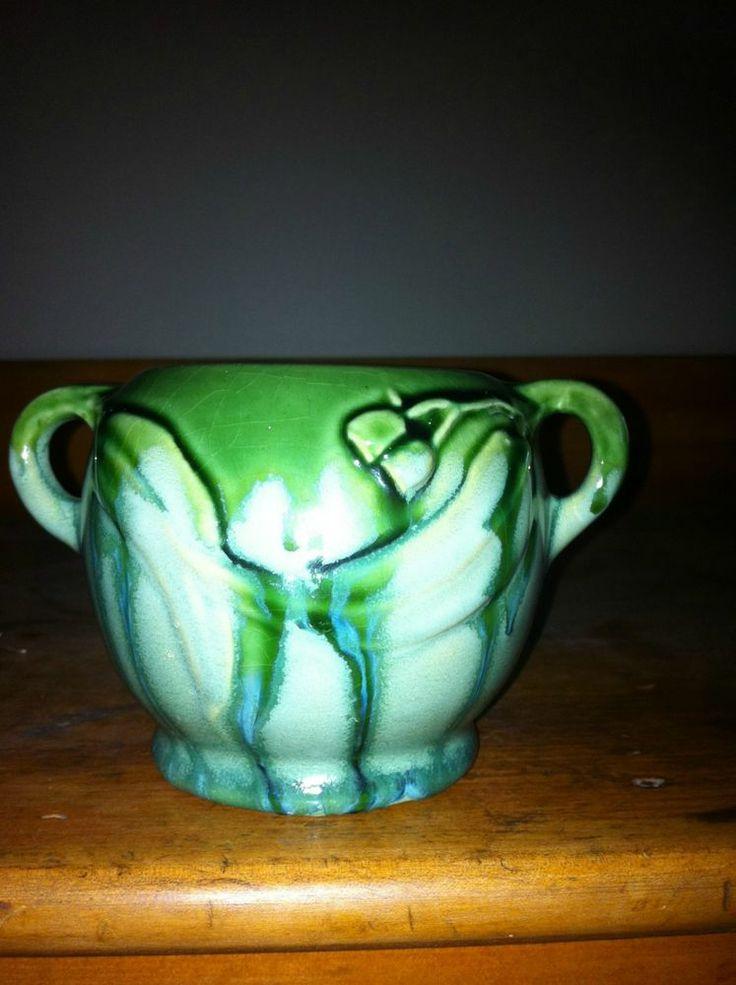 7.5cm x Melrose Ware Australian Pottery - Gumnut Vase