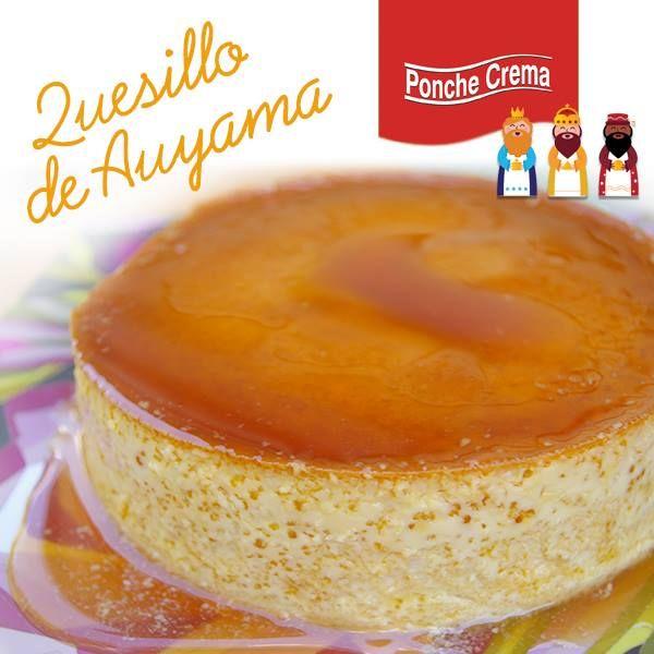 Quesillo de Auyama: receta via www.facebook.com/PoncheCremaOficial