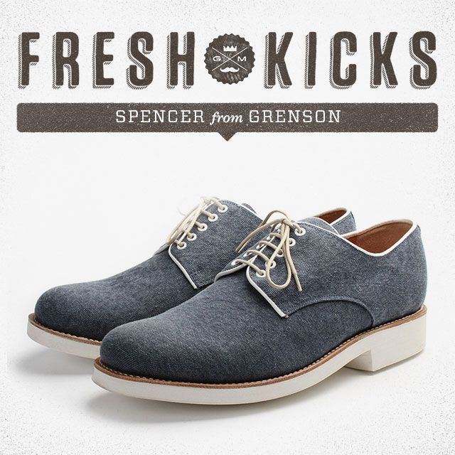 Fresh Kicks: Spencer by Grenson