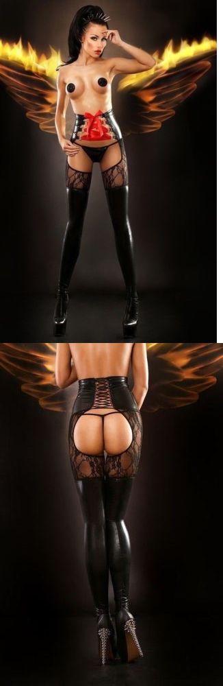 Other Womens Intimates 4844: Lolitta Luxury Lingerie Dominatrix Waist Belt Stockings -> BUY IT NOW ONLY: $37 on eBay!
