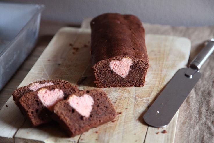 Torta San Valentino ( dal cuore nascosto )   Il Laboratorio delle Torte