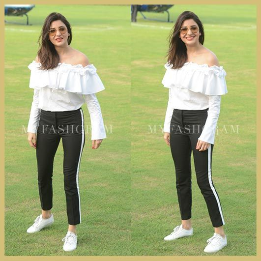 Anushka Sharma for Jab Harry Met Sejal promotions, MyFashgram