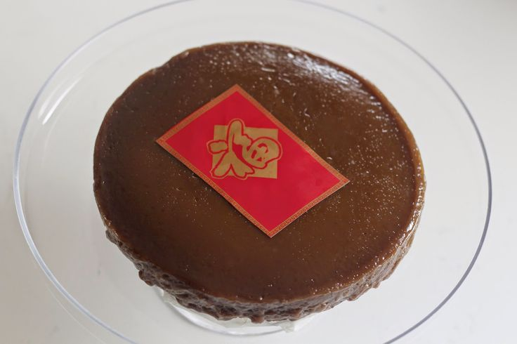 Chinese New Year Cake - Thermomix recipe with only four ingredients