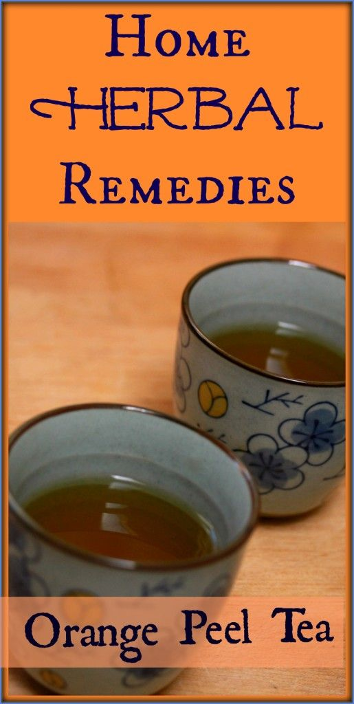 Wait! Don't Throw Away Those Orange Peels! Eat the orange and then make a yummy tea with the peel! Orange Peel Tea