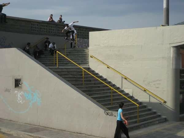 Sebastian Gonzalez Boardslide