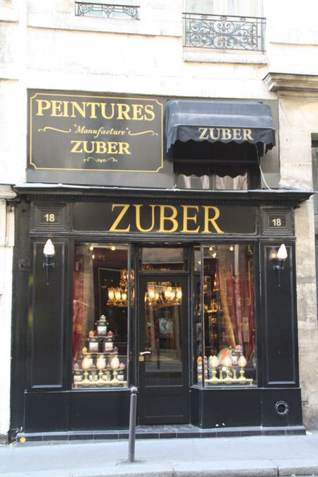 The most beautiful and expensive wallpaper in the world. Found in historic homes, châteaux, museums and elegant homes around the world.  French wallpaper manufacturer, Zuber and their Left-Bank Paris shop