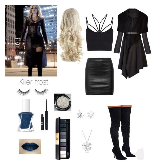 Killer frost (newest season) by flowerpower44 on Polyvore featuring polyvore, fashion, style, BCBGMAXAZRIA, The Row, Sweaty Betty, Bling Jewelry, tarte, Sigma, Essie and clothing. The CW's Flash, killer frost cosplay. Cosplay idea