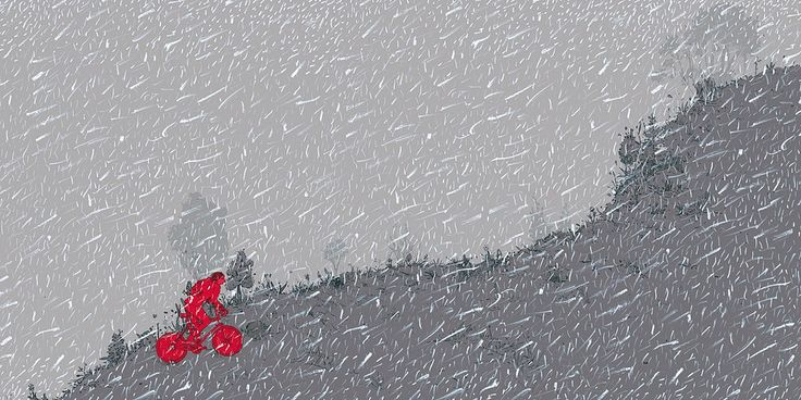 Martes es una canción que aparece en el disco Buenos Días, de Foeme y trata acerca de un viaje en bicicleta, puede escucharse acá: foeme.bandcamp.com/track/martes  Ésta ilustración forma parte del booklet de dicho CD.
