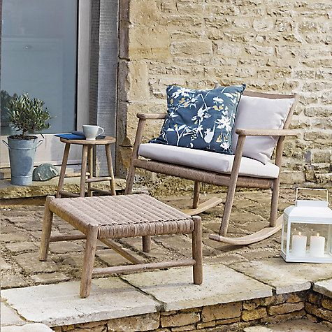 Buy John Lewis Croft Collection Islay Large Footstool Online at johnlewis.com