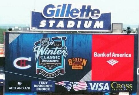 NHL 2016 Winter Classic at Gillette Stadium - Canadiens at Bruins