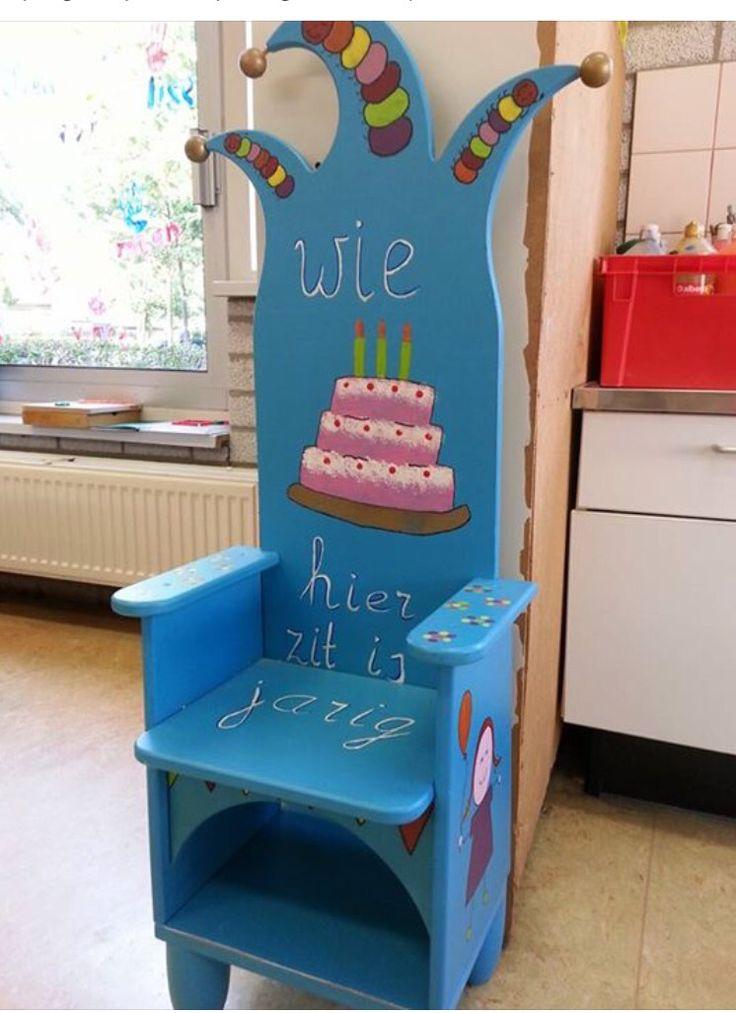 Verjaardag stoel
