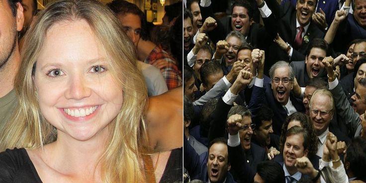 A publicitária Danielle Cunha, de 28 anos, filha do presidente da Câmara dos Deputados, Eduardo Cunha (PMDB-RJ), assumiu as contas de assessoria e divulgação de pelo menos t