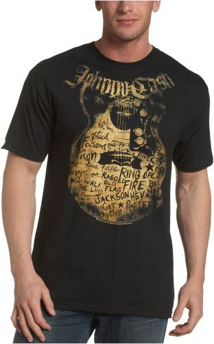 Zion Rootswear Men's Johnny Cash Songs T-Shirt - List price: $26.00 Price: $13.30 + Free Shipping