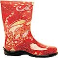 Sloggers rain boots $25.59 red Paisley size 9