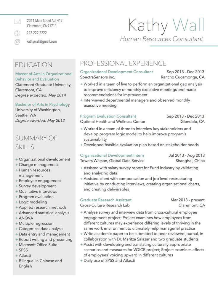 11 best Resume images on Pinterest | Resume ideas, Resume templates ...