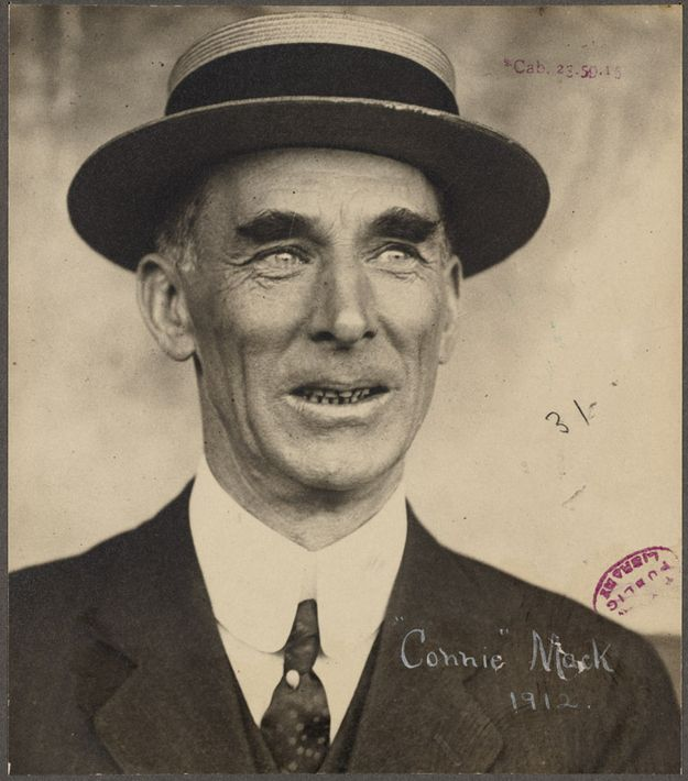 26. Connie Mack, Manager and owner of the Philadelphia Athletics, 1912 | 27 Photographs Of Turn Of The Century Boston Baseball