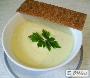 Крем-суп из цветной капусты с кабачком