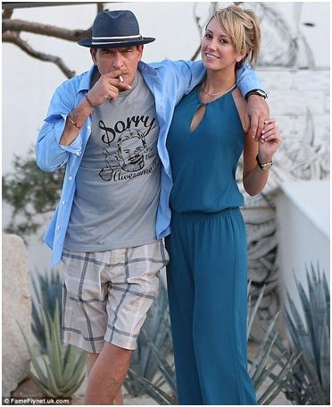 Charlie Sheen and Brett Rossi-Charlie Sheen And His Girlfriends