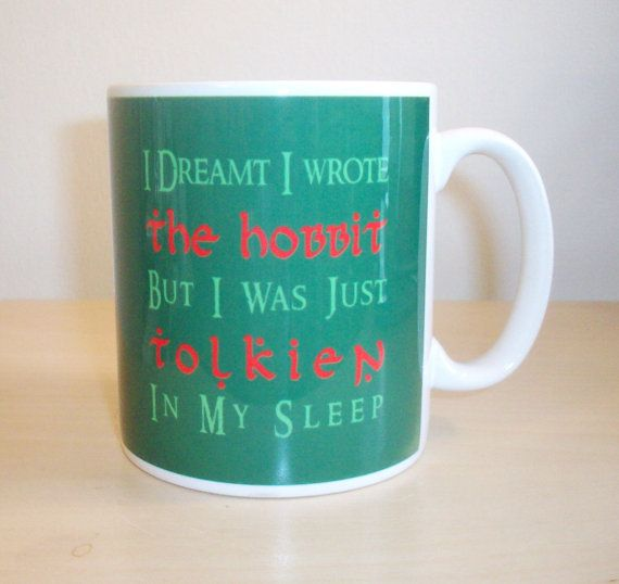 Hey, I found this really awesome Etsy listing at https://www.etsy.com/listing/191545829/hobbit-pun-tolkien-mug