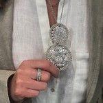 Italian Luxury Group - ITALIAN ARABESQUE RING IN 9K GOLD AND DIAMONDS