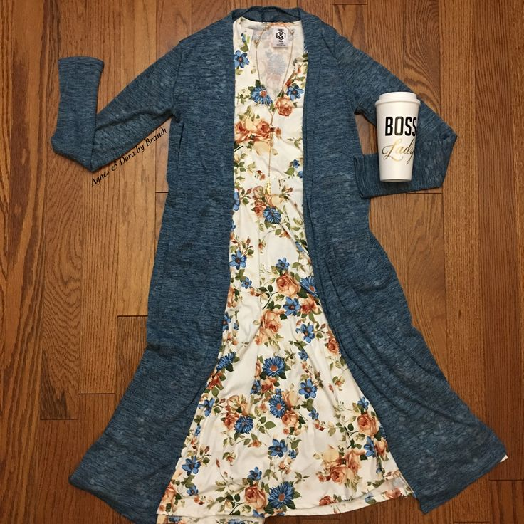 Agnes & Dora Curie Dress and Duster!