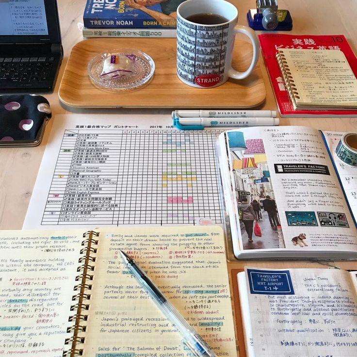 """775 次赞、 1 条评论 - @explore_further_ 在 Instagram 发布:"""". . 先週から始めたガントチャート📝 その日にやるべきことを ガントチャートで見ながら確認していくと 次に何をすべきかがわかるので 1日ごとの勉強計画を立てない派の私としては とてもやりやすいし…"""""""