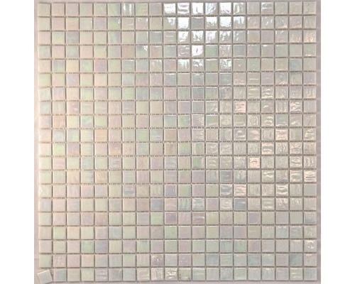 Glasmosaik perlmutt weiß bei HORNBACH kaufen