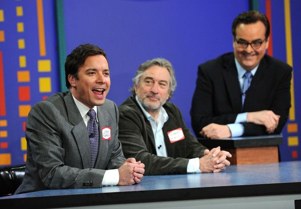 """Jimmy Fallon and Steve Higgins - Celebrities Visit """"Late Night With Jimmy Fallon"""" - March 18, 2011"""