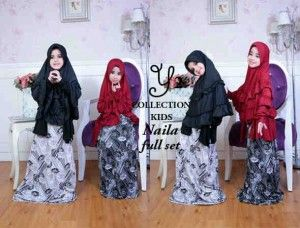 naila full set 300x228 Baju muslim anak perempuan naila kids s270