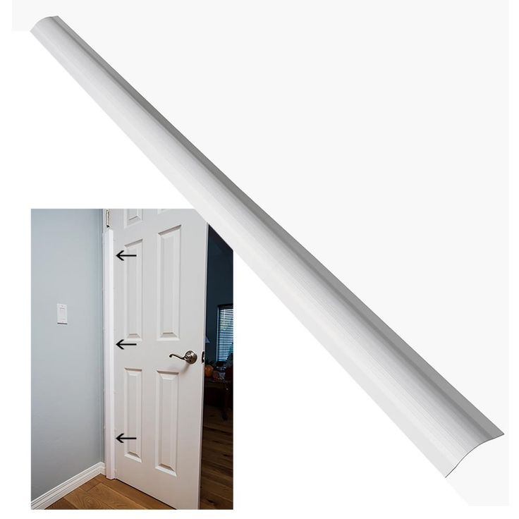 Finger Shield /& Protector to Child Proof Your Door PinchNot Home Door Shield Guard for 90 Degree Doors By Carlsbad Safety Products