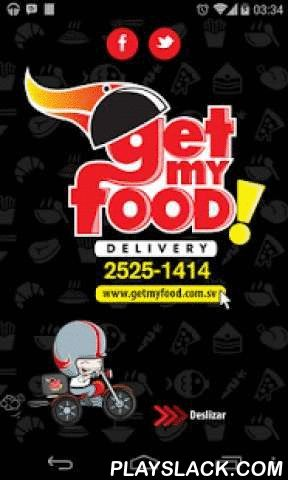 Get My Food!  Android App - playslack.com ,  + de 2,000 platillos, + de 45 restaurantes, + de 30 diferentes cocinas, 1 App, El Delivery.Get my Food!, es el primer delivery en El Salvador que te permite llevar los menús de tus restaurantes favoritos en tu bolsillo y hacer tu pedido directamente desde nuestra App, por medio de Direct Call.Gracias a nuestra App puedes acceder a la oferta gastronómica de nuestros restaurantes afiliados y gestionar tu pedido a domicilio.Funcionalidad:- Pedir…
