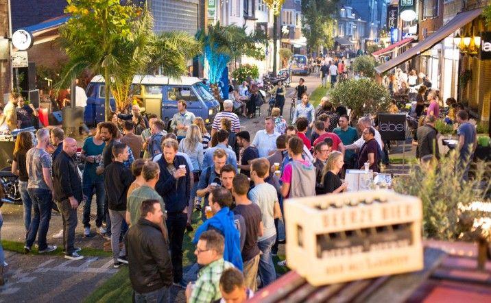 De Bergen area in Eindhoven   #restaurants #pubs