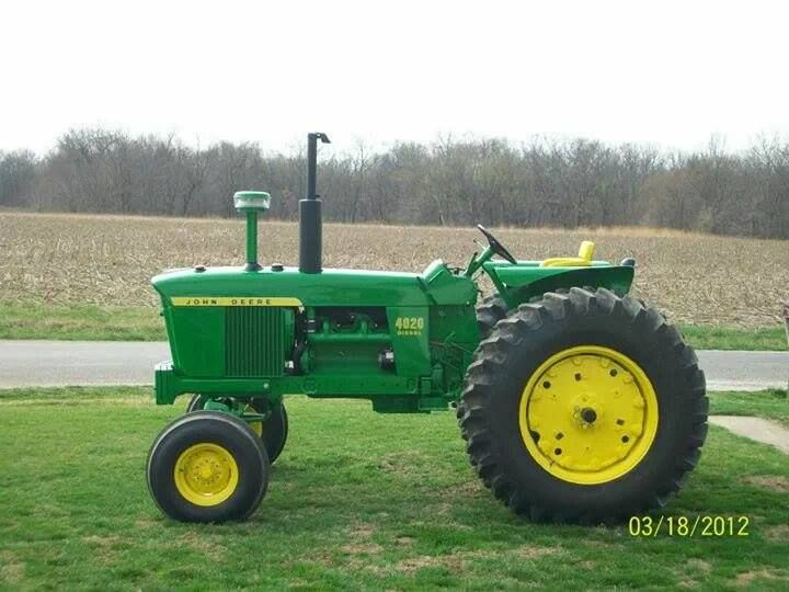 Love of a man and his trusty old tractor he'd used well for 48 years, but also a family love story for Grandpa/Dad.