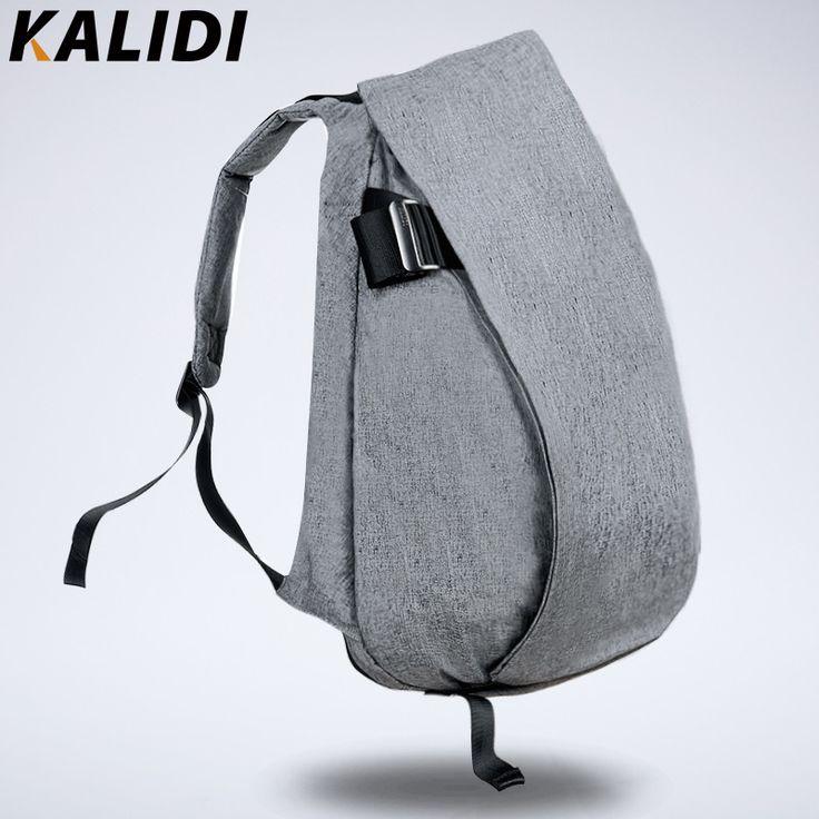 KALIDI 2016 Waterproof 15.6inch Laptop Backpack 14 inch Notebook Bag Men Backpacks bolsos para ordenador for Macbook Pro 15 Grey