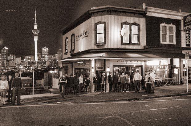 Chapel Bar & Bistro, Auckland, New Zealand.