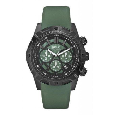 Guess Mens Hardware Chronograph Watch