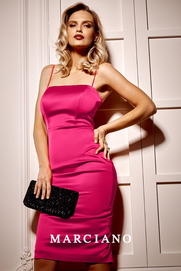 Make a statement in a pop of color from Marciano this New Year's Eve.