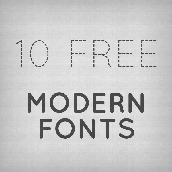 10 Useful Modern Fonts for Designers