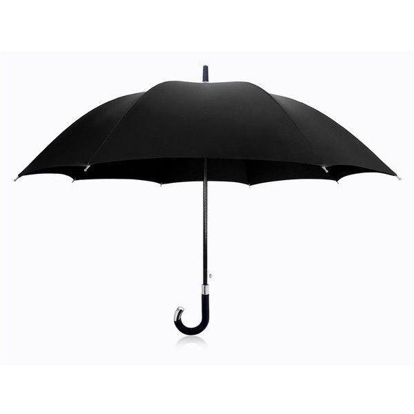Davek Elite Cane Umbrella (€130) ❤ liked on Polyvore featuring accessories, umbrellas, umbrella, misc, blu, davek, black umbrella and davek umbrella