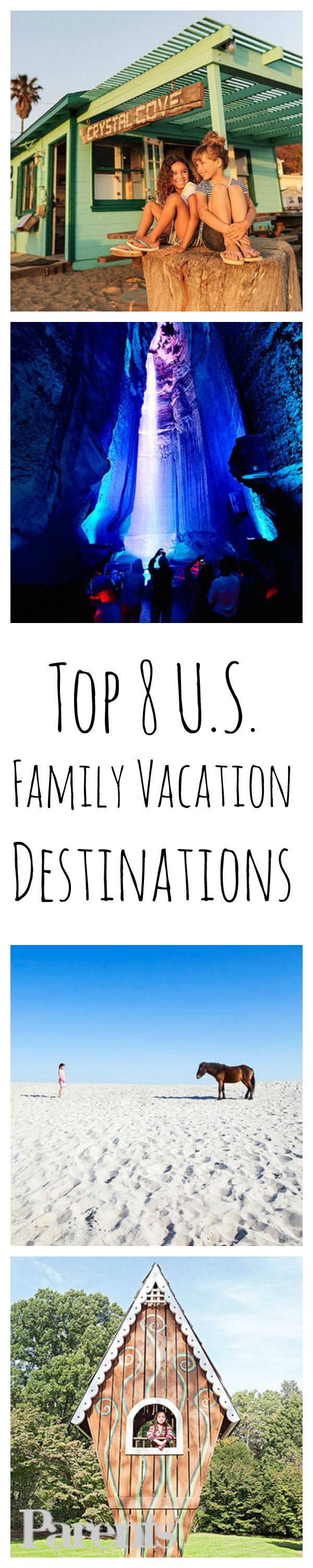 These 8 U.S. #vacation destinations are @FamilyFun magazine tested and kid-approved!