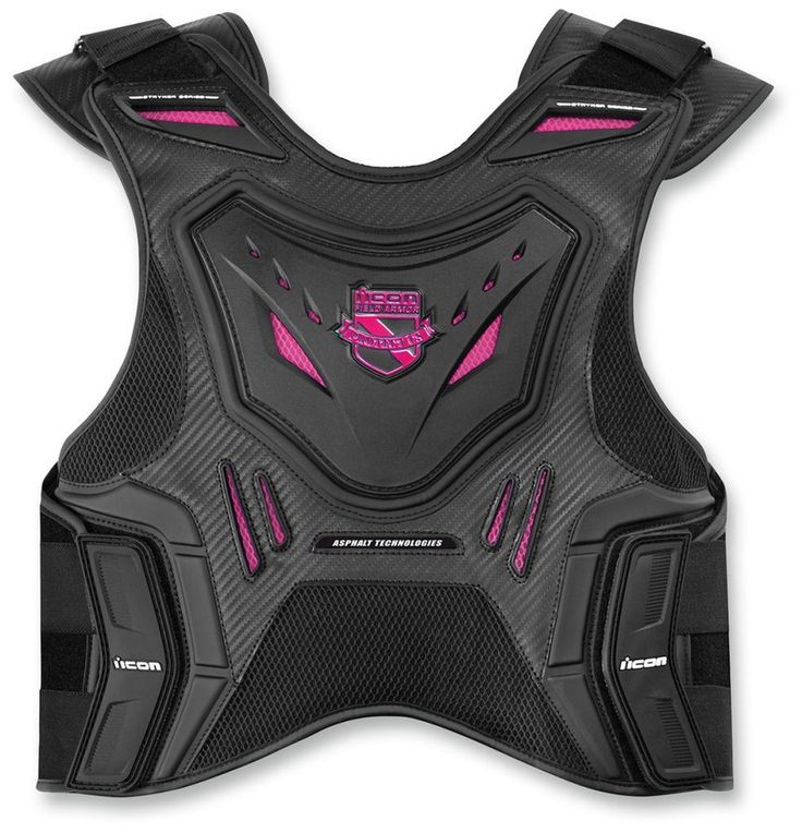 Icon Stryker Womens Field Armor Street Riding Protection Motorcycle Vest
