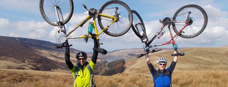 David & John raised enough money for 12 Qhubeka bikes!