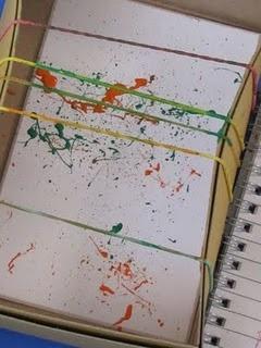 Pintar amb gomes elàstiques