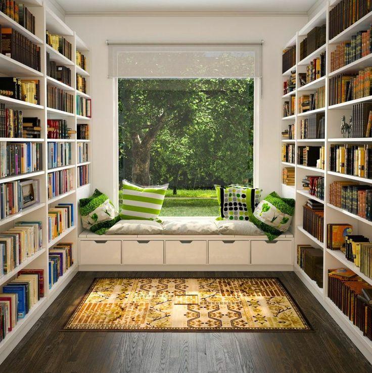 Шторы и жалюзи для библиотеки Шторы и жалюзи для библиотеки #blinds #window #interior #библиотека #кабинет #гостиная жалюзи #декорокна #рулонныешторы #рулонныежалюзи #rollblinds