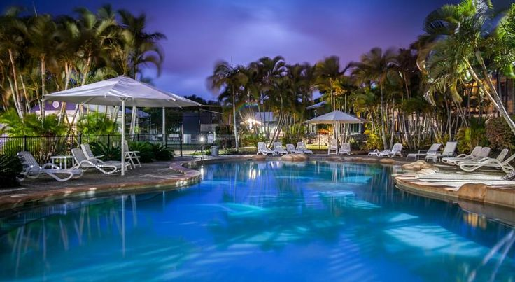 Ivory Palms Resort Noosaville This 3.5-star resort offers free parking and spacious accommodation, just a short stroll from Noosa River and 6 km from Noosa's main surf beaches.
